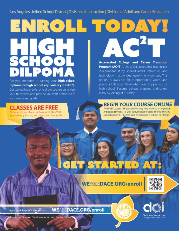 DACE High School Diploma and ACCT